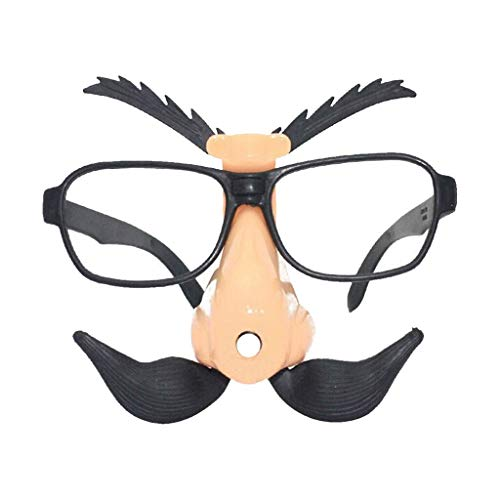 Halloween Dekoration Große Nase Komisch Gläser Nasenhaar Augenbraue Lustiges - Spider Mann Alten Kostüm