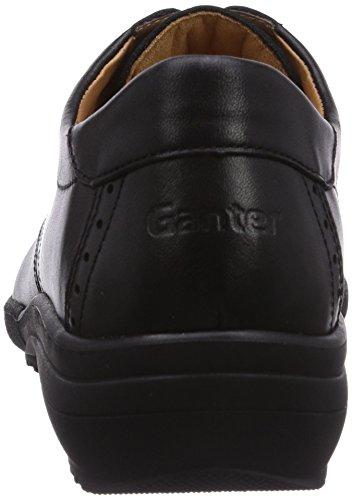 Ganter Sensitiv Katrin, Weite K, Derby Femme Noir (schwarz 0100)