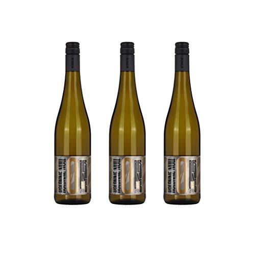 Kolonne Null - Alkoholfreier Wein (3 x 0,75 L) - Weißwein Riesling Jahrgang 2019