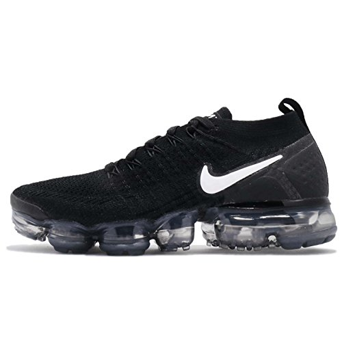 super popular d2477 f8779 Nike Damen W Air Vapormax Flyknit 2 Laufschuhe Mehrfarbig (Black White Dark  Grey