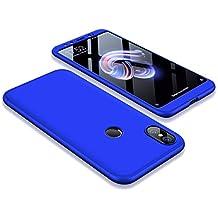 Funda para Xiaomi Mi A2 / Mi 6X, Carcasa 360 Grados Protección + Funda de