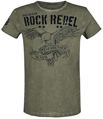 Rock Rebel by EMP Rebel Soul Camiseta Verde M