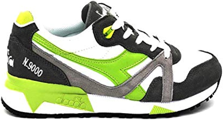 Diadora scarpe da ginnastica N 9000 9000 9000 III Bianco Grigio verde 171853-C7941 (45 - Bianco)   Facile da usare  8a7e31
