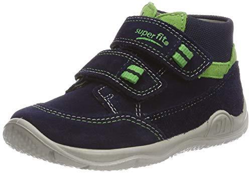 Superfit Baby Jungen Universe Sneaker, Blau (Blau/Grün 80), 23 EU