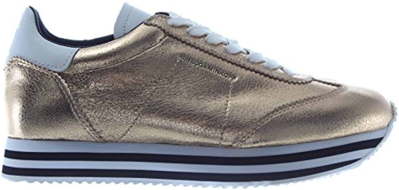 Rebecca Minkoff Minkoff Minkoff Scarpe Donna scarpe da ginnastica RMSZRK21 PLTM Susanna Pelle oro Nuove | Alta Qualità  | Uomo/Donne Scarpa  4c2657