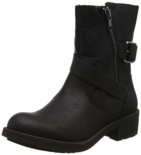 Rocket Dog Women's Tour Biker Boots, Black (Black), 6 UK 39 EU