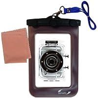 La pochette étanche Clean and Dry conçue pour l'appareil photo RIZO Sport XD