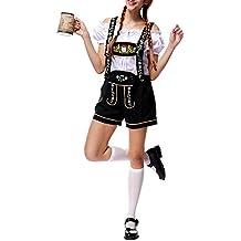 Donna Fionda Pantaloni Costumi Halloween Oktoberfest Birra