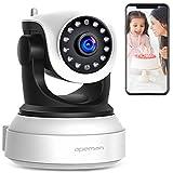 LVHC Baby Monitor Wireless Audio Video,Babyphone con Digitale Visione Notturna Monitoraggio della Temperatura e citofono 2.4 GHz