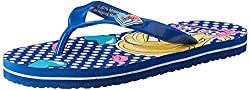 Barbie Girls Blue Flip-Flops and House Slippers - 5 kids UK/India (22 EU)