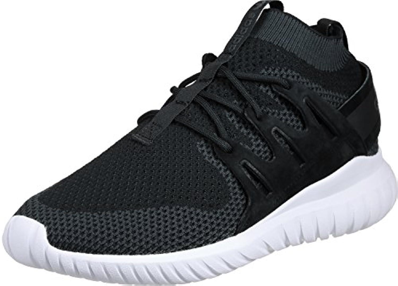adidas Tubular Nova Primeknit Black Dark Grey White