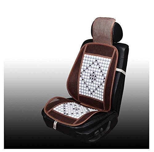 SXZHSM Autositzkissen, Einteiliges Atmungsaktives Mesh-Sitzkissen, Kaltstein-Lendenkissen Autositzüberzug (Color : A)