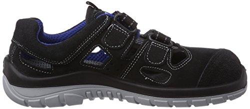 Maxguard Blue-pan P190, Chaussures de sécurité mixte adulte Multicolore - Mehrfarbig (blau/schwarz)