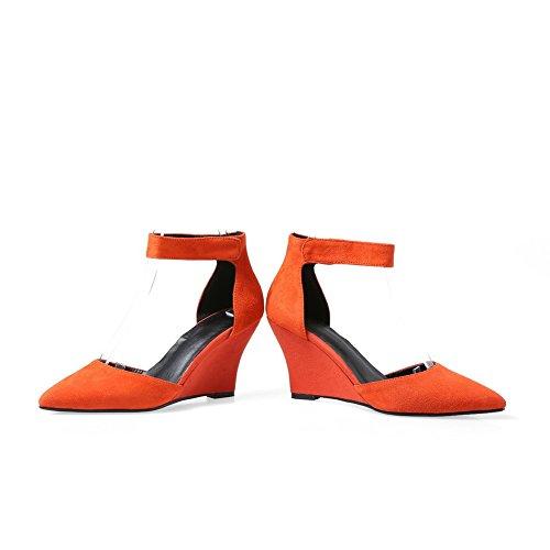 Donne Di Dei Colore Balamasa Le Sandali Per Arancione ZqwqExF