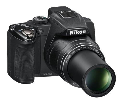 Nikon Coolpix P500 Digitalkamera (12 Megapixel, 36-fach opt. Zoom, 7,5 cm (3 Zoll) Display, Full-HD Video, bildstabilisiert) schwarz - 5