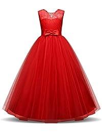 Amazon.it  Rosso - Abiti   Bambine e ragazze  Abbigliamento 63624d524be