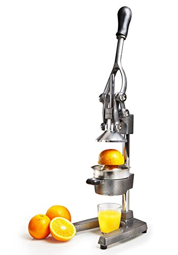 Lumaland Professional Manual Juicer cast iron Orange Juice Extractor With Hand Press Gear Citrus Juicer 6,5 Kg