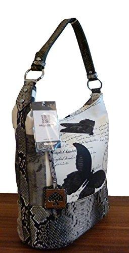 handtasche-shopper-butterfly-snake-cancun-iii-schwarz-grau-neu
