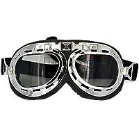 BJ Global Retro Aviator Pilot Bikes Cruiser Motorcycle Glasses Skate Ski Goggles
