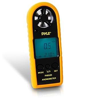 pyle digital anemometer messung von wind und temperatur. Black Bedroom Furniture Sets. Home Design Ideas