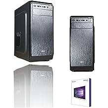 PC DESKTOP COMPLETO PROFESSIONAL DA GRAFICA STUDIO INTEL I7 QUAD CORE I7-7700 7th Gen UP 4,20 GHZ SCHEDA VIDEO INTEGRATA INTEL HD GRAPHICS 630 4K ALTA RISOLUZIONE 1080p FULL HD CASE ATX MYKA / SISTEMA OPERATIVO WINDOWS 10 PROFESSIONAL 64 BIT ORIGINALE / WIFI A 150MB / SSD 240GB /RAM 8GB DDR4 2133MHZ / ALIMENTATORE 500W ATX /MASTERIZZATORE DVD / MB MICRO ATX INGRESSI HDMI DVI VGA/USB 2.0 3.0 AUDIO,VIDEO,LAN PC FISSO COMPLETO PER LAVORO SCUOLA AZIENDA - PROFESSIONAL LINE I7 SSD240 8G WIFI WIN10