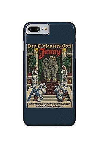 Der Elefanten - Gott Jenny Vintage Poster (artist: H. H. ) (iPhone...