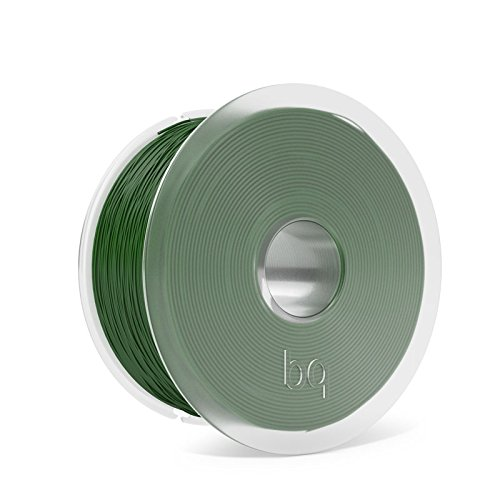 BQ Easy Go - Filament PLA of 1.75 mm (100% PLA, resistant to acetone, fast hardening) color bottle green