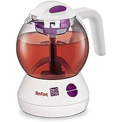 Tefal BJ1100FR Théière Électrique Magic Tea Sans Fil 1L Système Infusion Intégré Minuteur Filtre
