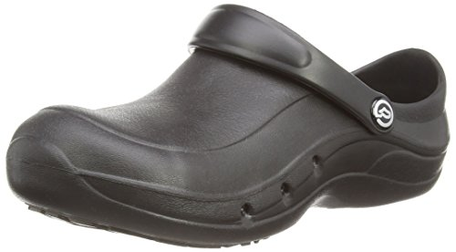Toffeln Eziprotekta Unisex-Erwachsene Sicherheitsschuhe, Schwarz (Schwarz), 42 Schwarz (Schwarz)