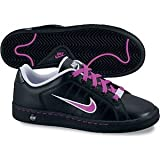 Nike COURT TRADITION 2 PLUS (GS) - Zapatillas de tenis para niña - tamaño: 6y, color: black/magenta palest purple