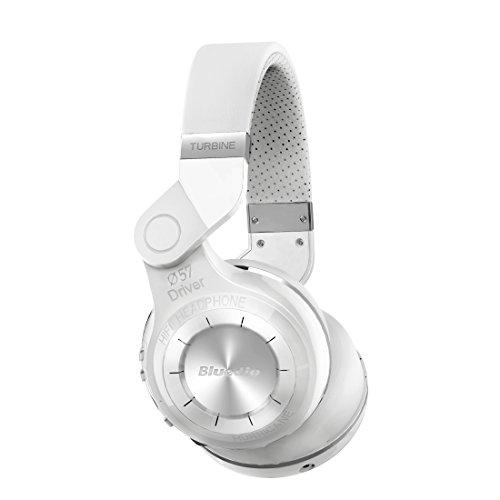 Bluedio T2 Bluetooth Wireless Stereo Headphones , White