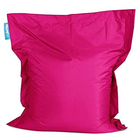 Outdoor Bean Bag - Genuine Original Big Bertha Product - Choice of Colours & Sizes - Splash Proof - Designed & Made in the UK (Cerise, Big Bertha Bean Bag