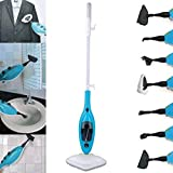 ELT JOLTA Aqua Eco Dampfreiniger 1300 Watt 10-in-1 Dampfmop Dampfbesen Handdampfreiniger steam cleaner steam mop (10in1)