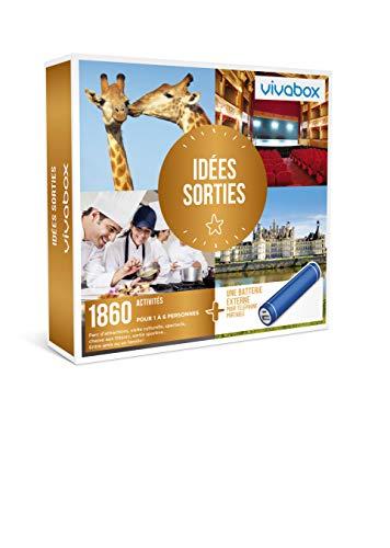 Vivabox - Coffret cadeau loisirs - IDÉES SORTIES - 1860 activités culture + 1...