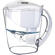 HoLife, Filtro d' acqua, depuratore d'acqua di 3.5L, con 1 infusore, per casa, ufficio, cucina, ecc (bianco)