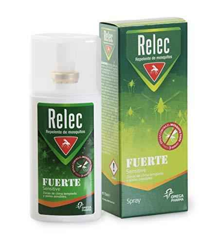 Relec Fuerte Familiar Spray Eficaz Antimosquitos. Sin Olor....