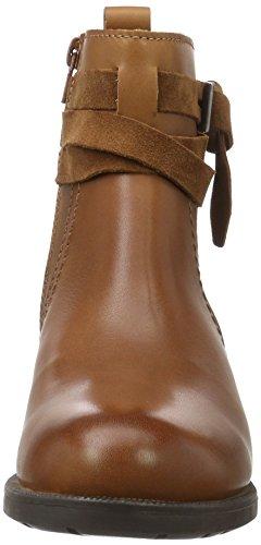 Marc O'Polo Flat Heel Bootie - Bottines femme Marron (Cognac 720)