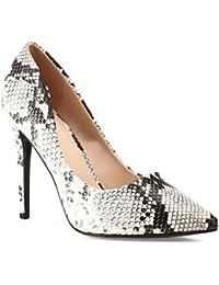 5d21e2e067e Amazon.fr   Escarpins Serpent - Chaussures   Chaussures et Sacs