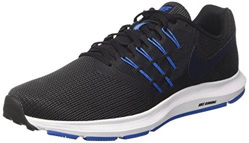 Nike Run Swift, Herren Laufschuhe, Mehrfarbig (Anthracite/obsidian/black/battle Blue), 47 EU (Obsidian-basketball-schuh)