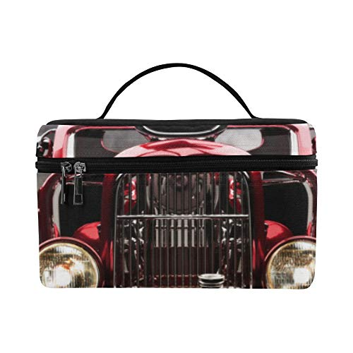 American Muscle Rad (Eine amerikanische Oldtimer Muster Lunchbox Tote Bag Lunch Holder Isolierte Lunch Cooler Bag Für Frauen/Männer/Picknick/Bootfahren/Strand/Angeln/Schule/Arbeit)