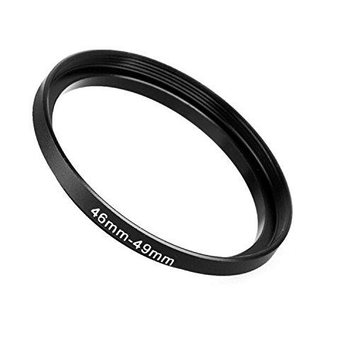 Fotodiox Adattatore ad anello per filtro, metallo Anodizzato Nero 46 millimetri-49mm, 46-49 mm [Camera]