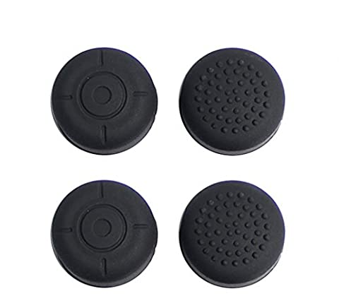 Chickwin 4PCS Silikon verbesserte Gel Thumb Stick Grips Caps Abdeckung Fall für Nintendo Switch NS Controller Joy-Con Thumb Stick