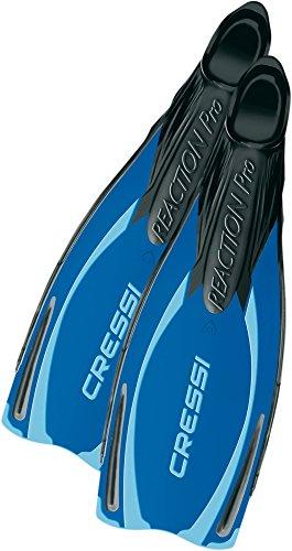 Cressi Unisex Taucherflossen Reaction Pro, blau/hellblau, 40/41, BG191040