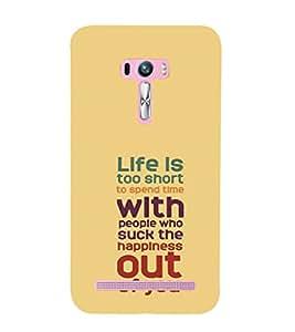 printtech Cool Quotes Success Back Case Cover for Asus Zenfone Selfie::Asus Zenfone Selfie ZD551KL