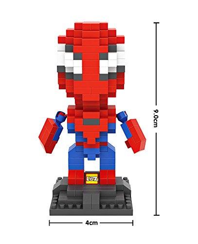 Marvels Superhero Captain America Civil War Captain America Iron Man Spider Man 3 Set LOZ NanoBlocks Micro Diamond DIY Educational Toys