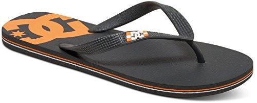 DC Shoes Spray - Flip-Flops - Tongs - Homme - US 8 / UK 7 / EU 40.5 - Gris
