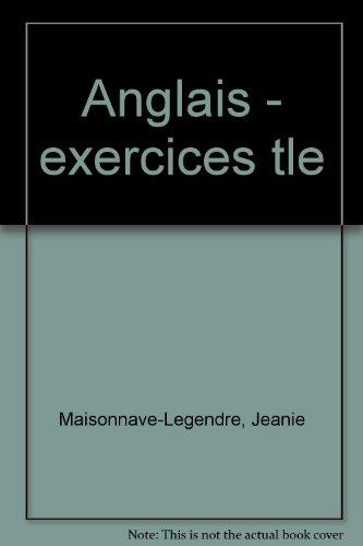 Anglais, terminale, carnet de cours et exercices