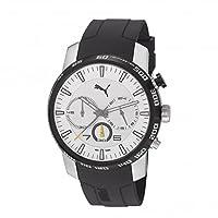 Reloj Puma Essence Chrono PU103051001 de cuarzo para hombre, correa de resina color negro (cronómetro) de Puma