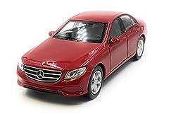 Onlineworld2013 Modellauto E400 E-Klasse Limousine Zufällige Farbe! Auto Maßstab 1:34-39 (lizensiert)