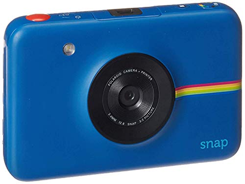 Polaroid Snap 2.0 Cámara Digital instantánea (Azul Marino) con tecnología de impresión Zink Zero Ink